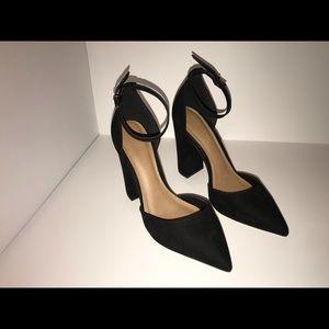 4in block heel